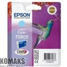 Consumable for printers EPSON T0805 Light Cyan Ink Cartridge - Retail Pack (untagged)