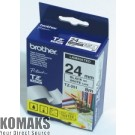 Consumable for printers BROTHER TZ-251 Tape Black on White, Laminated, 24mm - Eco