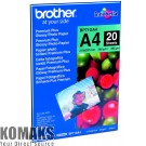 Paper BROTHER BP71GA4 Premium Plus Glossy Photo Paper 20 Sheets