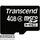 Memory card TRANSCEND micro SDHC 4096 MB