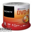 Sony 50pcs DVD-R spindle 16x