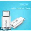 Power adapter HUAWEI 5V2A Type C To Micro USB