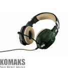 Headset for gamers TRUST GXT 322C green