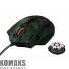 Mouse TRUST GXT 155C gaming, green