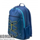 """Laptop backpack HP 15.6"""" Active Backpack blue/yellow"""