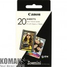 Paper CANON ZINK Paper 20 sheets for Zoemini