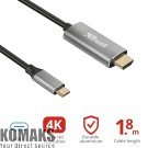 Tablet accessories TRUST Calyx USB-C to HDMI Cable
