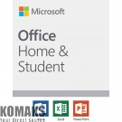 Software MICROSOFT Office Home and Student 2019 English EuroZone Medialess P6