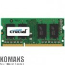 Memory for laptop CRUCIAL DDR3, 4 GB, 1600MHz