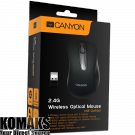 Mouse CANYON CNE-CMSW2 Wireless optical, Black