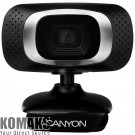 Webcam CANYON CNE-CWC3 1080P Full HD webcam with USB2