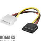 Power cable AKYGA AK-CA-17 Molex/SATA 15cm