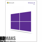 Operating system MICROSOFT Windows Pro 10 64Bit