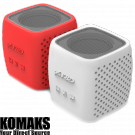 Loudspeakers F&D W4 3W Bluetooth red/white