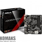 Motherboard ASROCK AB350M-HDV s. AM4  DDR4