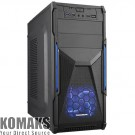 PC Case TRENDSONIC CON02A-C PSU 550W blue
