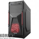 PC Case TRENDSONIC CON02A-C PSU 550W red