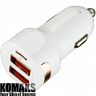 Adapter CANYON Universal 2xUSB car adapter