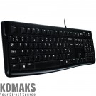 Keyboard LOGITECH Corded Keyboard K120 - Business EMEA - US International - BLACK