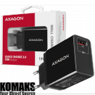 Battery charger AXAGON ACU-QC19 wall charger 1x QC3.0/AFC/FCP/SMART
