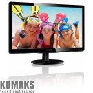 "Monitor Philips 200V4QSBR 19.5"" LED VGA, DVI"