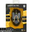 Mouse DEFENDER Warhead GM-1750 optical wired gaming