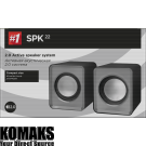 Loudspeakers DEFENDER 2.0 Speaker system SPK 22, 5W(2x2.5 W), USB