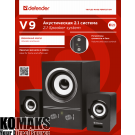 Loudspeakers DEFENDER 2.1 Speaker system V9 11W(2x3W + Suboofer 5W)