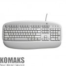 Keyboard Logitech Value White