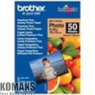 Paper BROTHER Premium Plus Glossy Photo Paper, 50 Sheets