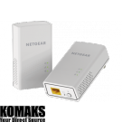 Adapter NETGEAR PL1200 POWERLINE 1000, 1 Gigabit Port, 2 units