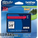 Consumable for printers BROTHER TZ Tape 9mm Black on Red