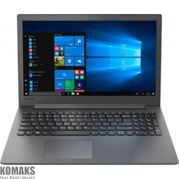 "Laptop Lenovo IP130 15.6"" A6-9225 4GB 500GB DVD-RW Windows 10 81H5000NFR"