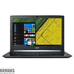 "Laptop Acer A515 15.6"" 1920x1080 i5-8250U 4GB 1TB+16GB Optane SSD Windows 10 Home 2.2kg NX.H1BAA.011"